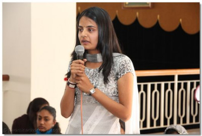 An episode from Vachanamrut Granth recited by a student