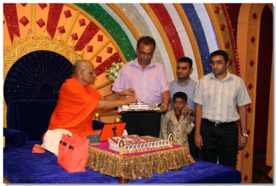 His Divine Holiness Acharya Swamishree officially releases Sadachaar Sandesh