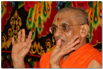 'Listen to Lord Swaminarayan and you will be guided in the right direction in life'