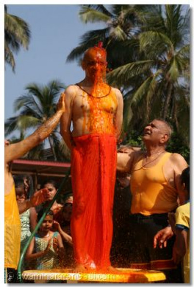 Everyone takes part in being involved in the rangotsav