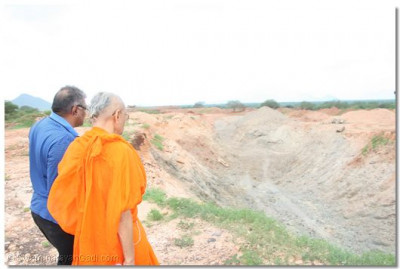 Acharya Swamishree looks carefully at what exactly happened to the site once demolished