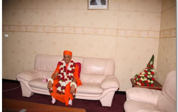 Arrival of HDH ACharya Swamishree