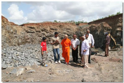 Padharamani at Kerai Construction quarry