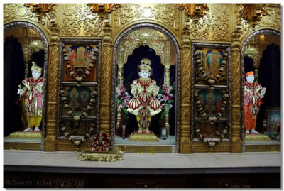 Divine darshan of the Swaminarayanbapa Swamibapa.