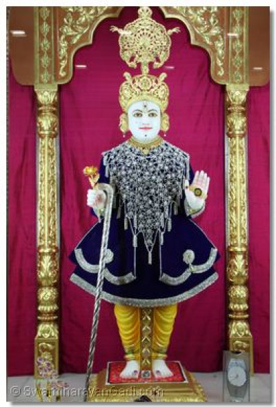 Divine Darshan of Shree Swaminarayan Bhagwan