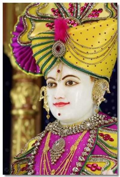 Divine darshan of Shree Swaminarayan bhagwan.