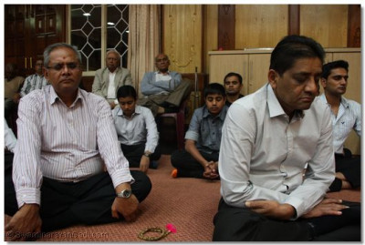 Meditation was one of the fundamental principles that Muktajivan Swamibapa encouraged