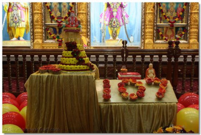 A display of the devotees affection towards the Lord