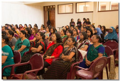 Ladies of all ages took part in the seminar