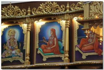 Divine darshan of Shree Gopalanand Swami