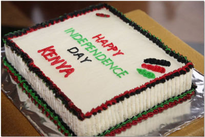 Cake for Jamhuri day celebration