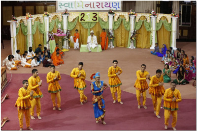 A dance perfomance during the skit