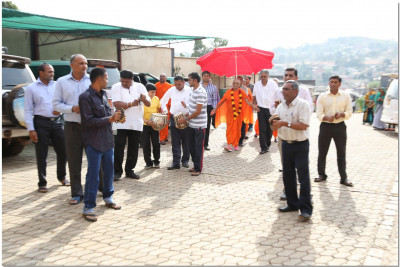Swagat yatra at Shree Hari Complex