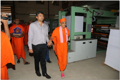 Padharamani at printing press