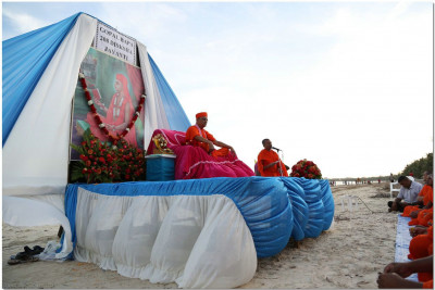 Gopalbapa Diksha Jayanti by the seaside