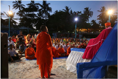 Sant Shiromani Shree Gurupriyadasji Swami hosts the event