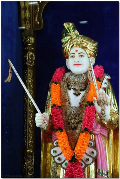 Divine darshan of Shree Jeevanpran Abji Bapashree