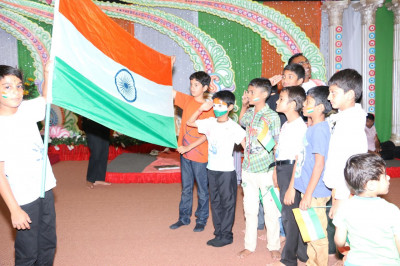 Celebrating India's 67th Independence day