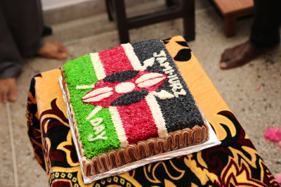 A cake for Jamhuri Day