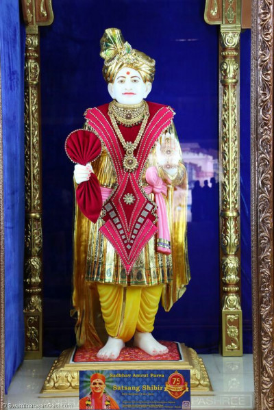 Shangar darshan of Jeevanpran Shree AbjiBapashree