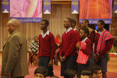 Directors, teachers and students of Kenya Society for the deaf children warmly welcomed