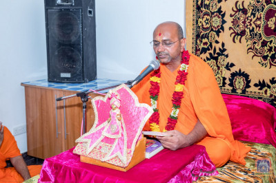 Scripture recitals by a Sant