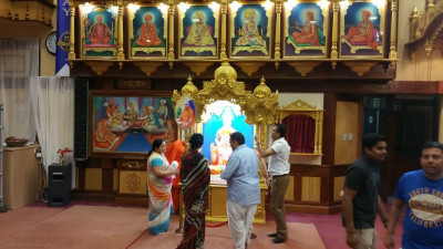 Acharya Swamishree's 75th birthday preparations
