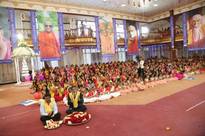 Acharya Swamishree's 75th birthday