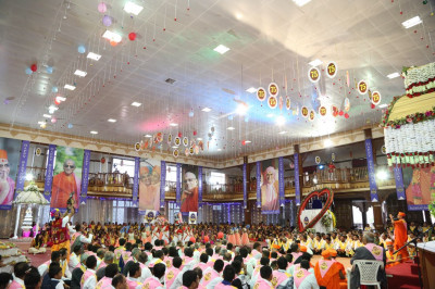 Acharya Swamishree's 75th birthday celebrations<br>