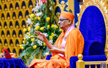 Acharya Swamishree Maharaj Ashirwad - Nairobi 19th Dec 2017