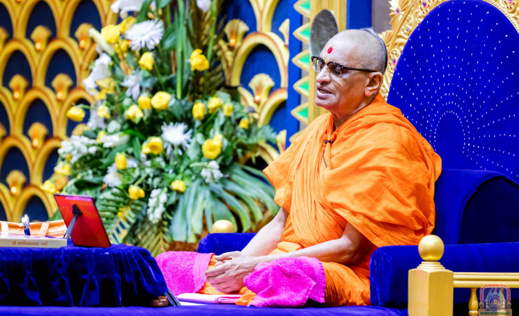 Acharya Swamishree Maharaj Ashirwad - Nairobi 14th Jan 2018