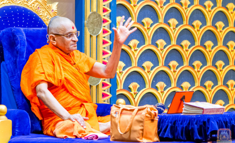 Acharya Swamishree Maharaj Ashirwad - Nairobi 17th Jan 2018
