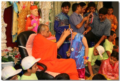 All the devotees who took part in the performances were given medals