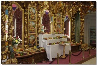 Many items were offered to the Lord at the Utraayan Festival