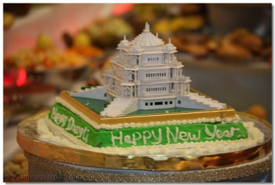A Diwali celebration cake