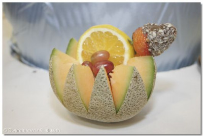 Carved fruit and edible arrangements