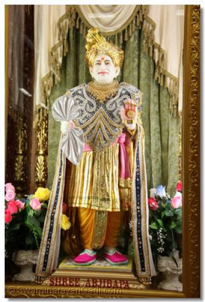 Divine darshan of Abji Bapashree