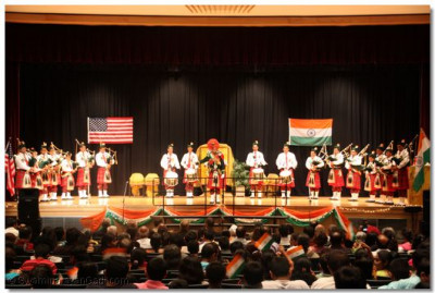 The audience truly enjoyed the Indian melodies
