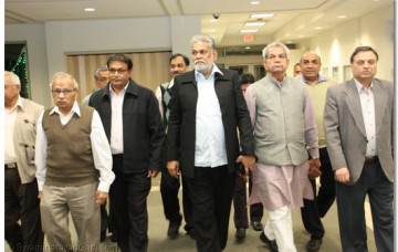 Mr. Parshottam Rupala visit New Jersey Temple