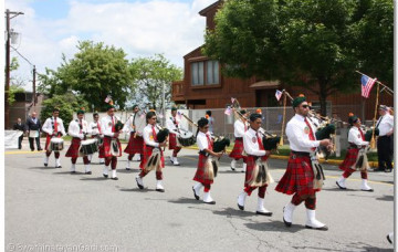 Memorial Day Parade 2011 - Swamibapa PIpe Band