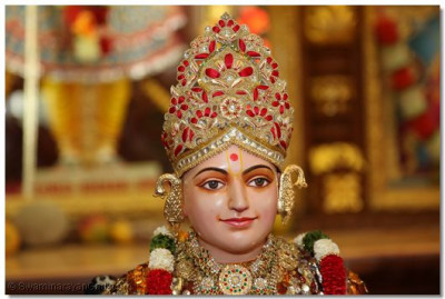 The divine darshan of Lord Swaminarayan