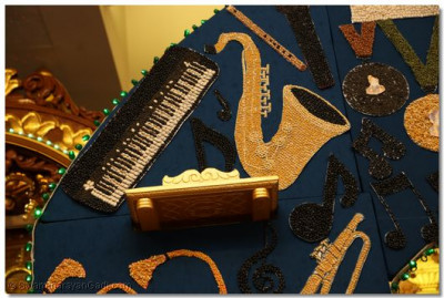 Various other instruments such as the keyboard, saxophone, and flute were made out of beans as well. Disciples competed in all of these musical instrument categories.