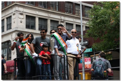 Indian cricketer Anil Kumble - the parade's Chief Guest