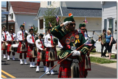 Swamibapa Pipe Band salutes the fallen heroes in honor of Memorial Day