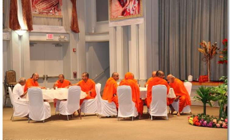 Acharya Swamishree Departure from the United States