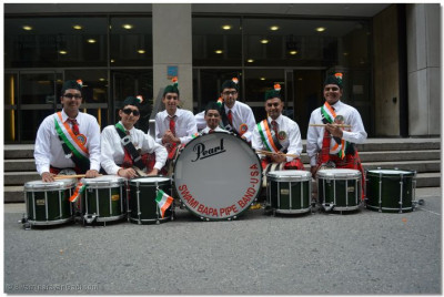 Drummers of Swamibapa Pipe Band
