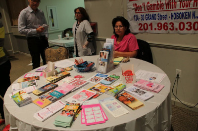 Hoboken Family Practice offers general medical advice at their booth