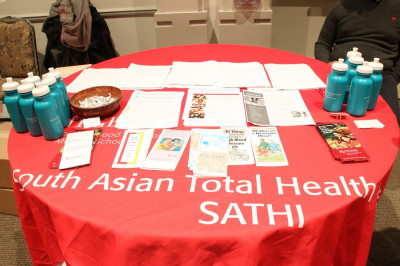 South Asian Total Health Initiative encouraged participants to take part in informative surveys