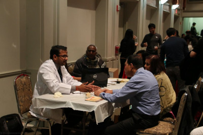 Patients receive counseling from health care professionals