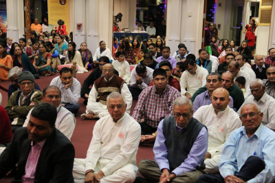 Hundreds of disciples attended the celebrations